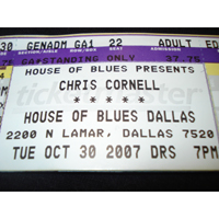 Cornell, Chris - 2007.10.30 - House of Blues Dallas, TX, USA (part 1)