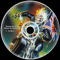 Iron Maiden (GBR, London) - Seventh Son of a Seventh Son (Re-issue 1995 - UK Bonus CD)