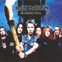 Iron Maiden (GBR, London) - The Wicker Man (European Single)
