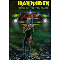 Iron Maiden (GBR, London) - 1986.10.10 - Somewhere in Manchester '86 (Apollo Theatre, Manchester, UK: CD 2)