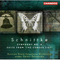 Schnittke, Alfred - Alfred Schnittke: Symphony N 8, Suite from The Census List