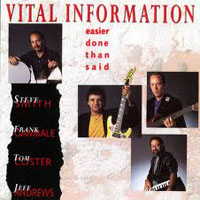 Smith, Steve - Steve Smith & Vital Information - Easier Done Than Said