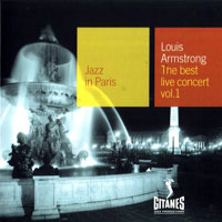 Armstrong, Louis - Jazz in Paris - The Best Live Concert,  Vol. 1 (1965)