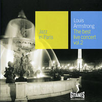Armstrong, Louis - Jazz in Paris - The Best Live Concert,  Vol. 2 (1965)