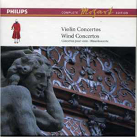Mozart, Wolfgang Amadeus - Mozart: The Complete Philips Edition (Box 5) - Violin Concertos, Wind Music (CD 1)