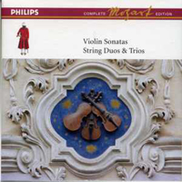 Mozart, Wolfgang Amadeus - Mozart: The Complete Philips Edition (Box 8) - Violin Sonatas (CD 5)
