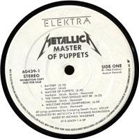 Metallica: '1986 - Master Of Puppets (PBTHAL Vinyl 2009, WLP