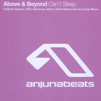 Above and Beyond - Can't Sleep (Remixes - CDr Single)