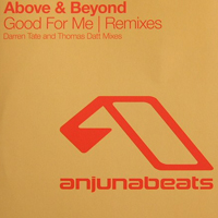 Above and Beyond - Good For Me (Remixes - Limited Edition Promo CDr Single)