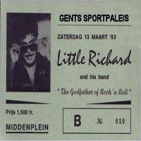 Little Richard - Sportpaleis, Ghent, Belgium - March 13, 1993