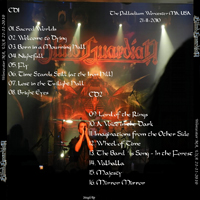 Blind Guardian - 2010.11.21 - The Palladium, Worcester, MA, USA (CD 2)