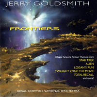 Goldsmith, Jerry - Jerry Goldsmith: Frontiers (Film Score Re-recording Anthology)