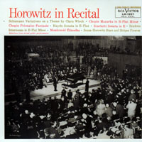Horowitz, Vladimir - The Complete Original Jacket Collection (CD 21: In Recital)