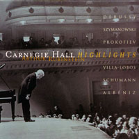 Rubinstein, Artur - The Rubinstein Collection, Limited Edition (Vol. 42) Carneige Hall Heighlights