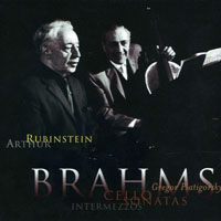 Rubinstein, Artur - The Rubinstein Collection, Limited Edition (Vol. 64) Brahms - Cello Sonatas, Piano Pieces