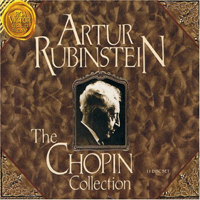 Rubinstein, Artur - Artur Rubinstein play Complete Chopin's Piano solo Works CD 9