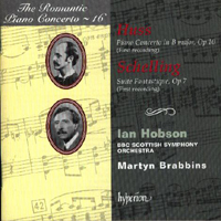 Hobson, Ian - The Romantic Piano Concerto 16: Huss/Schelling