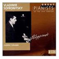 Sofronitsky, Vladimir - Great Pianists  (CD 1)