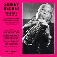 Bechet, Sidney - The Alternative Takes In Chronological Order (1925-1941, Vol. 1)