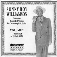 Sonny Boy Williamson - Sonny Boy Williamson - Complete Recorded Works (Vol. 2) 1938-1939