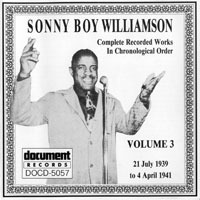 Sonny Boy Williamson - Sonny Boy Williamson - Complete Recorded Works (Vol. 3) 1939-1941
