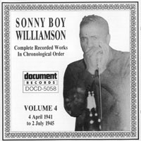 Sonny Boy Williamson - Sonny Boy Williamson - Complete Recorded Works (Vol. 4) 4 April 1941 to 2 July 1945