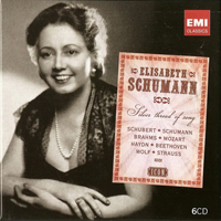 Schumann, Elisabeth - Silver Thread Of Song (CD 3)