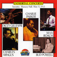 Max Roach - Immortal Concert - Toronto, Massey Hall, May 15, 1953