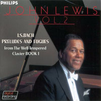 Lewis, John - J.S. Bach Preludes and Fugues, Vol. 2