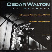 Walton, Cedar  - Live at  Maybeck