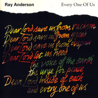 Anderson, Ray - Every One Of Us