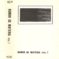 Lopez, Francisco - Rumor De Materia Vol. 1 (Split)