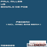 Miller, Paul - Paul Miller vs. Ronald de Foe - Prozac (Single)