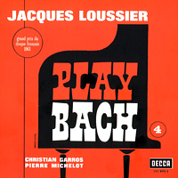 Loussier, Jacques - Play Bach, No. 4
