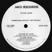 John, Elton - Victim Of Love (promo) (12'' Single)