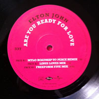 John, Elton - Are You Ready For Love (12'' Single)