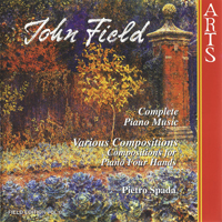 Spada, Pietro - John Field: Complete piano music (CD 6: Various compositions)